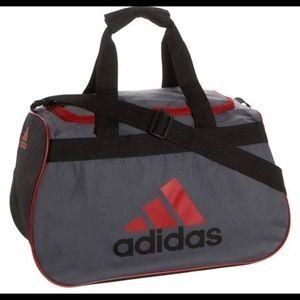 Adidas Diablo Duffel Bag Small Gray